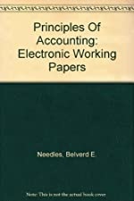 Electronic Working Papers for Needles by Belverd E. Needles