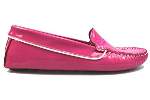 scarpe donna HARMONT & BLAINE 36 EU mocassini fucsia vernice AS897