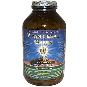 Healthforce Vitamineral Green Version 4.8, Vegancaps, 400 Count