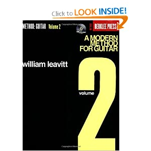 A Modern Method for Guitar - Volume 2 William Leavitt