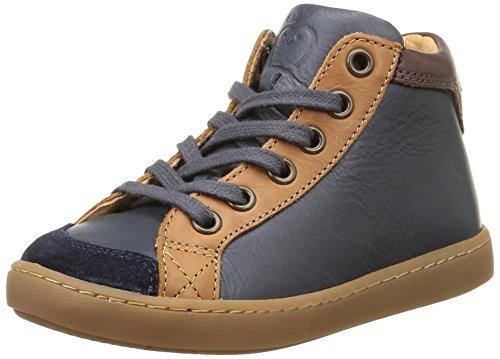 Shoo Pom - Play Zip, Sneakers per bambini e ragazzi, multicolore (lipiz navy/camel/multi), 31