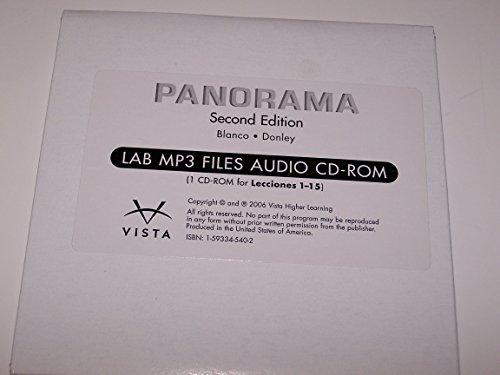 Title: PANORAMA 2e LAB MP3 Files Audio CDROM