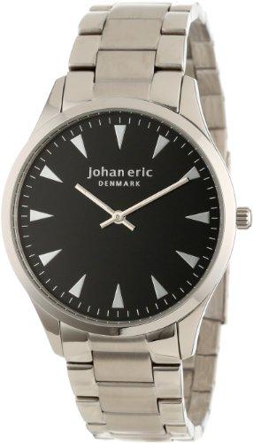 Johan Eric JE9000-04-007B - Reloj de pulsera hombre, color plateado