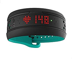 Mio Fuse Heart Rate Training with Activity Tracker, Regular (Aqua)