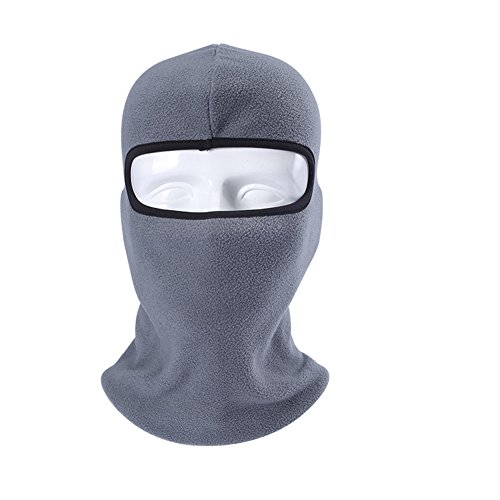 Brave Tour Ski Mask Face Mask Cycling Hiking Neck Warmer Mask (Grey) (Welding Helmet Ventilator compare prices)