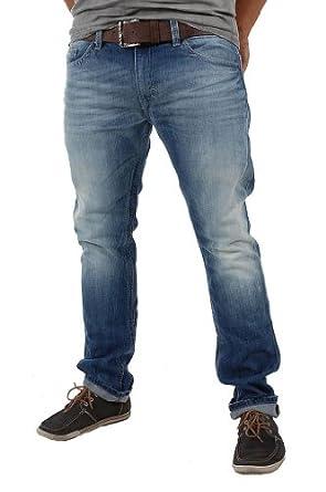 Mens Diesel THAVAR 0810N Relaxed Jeans - Light Blue Denim Size W34 x L32