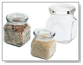 Anchor Hocking Apothecary Jar Set