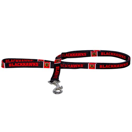 Nhl Chicago Blackhawks Pet Lead, Team Color, Medium front-892527