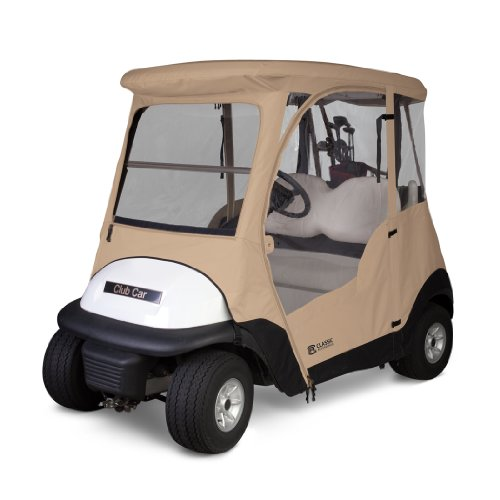 Classic Fairway Club Car Precedent Enclosure - Sand (Windshield For Golf Cart Club Car compare prices)