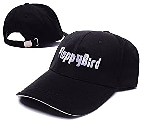 ROGER Flappy Bird Logo Adjustable Baseball Caps Unisex Embroidery Hats