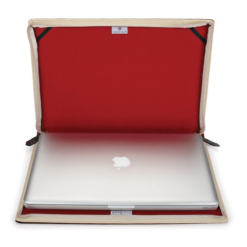 Twelve South BookBook Laptop Case Brown/Red for Apple MacBook Pro up to 43.2 cm (17 Inch)