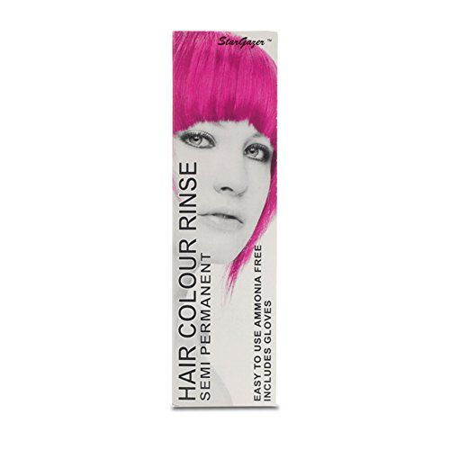 Stargazer Semi Permanent Hair Colour Dye UV Pink Party Festival (Stargazer Hair Color compare prices)