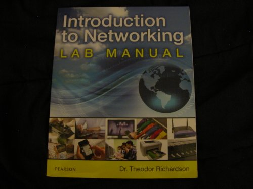 Introduction To Networking Lab Manual Pearson