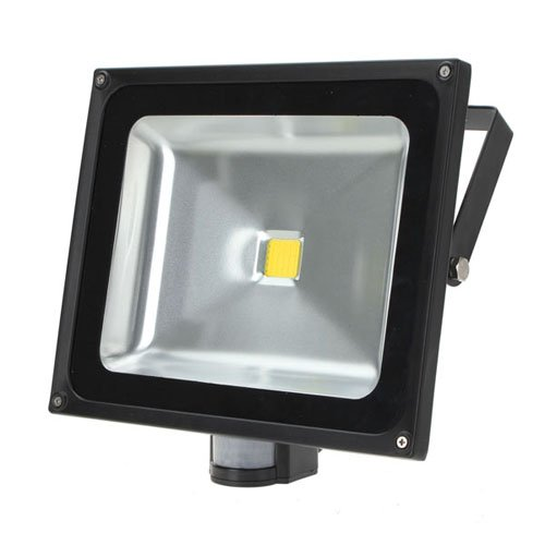 50W Led Pir Motion Sensor Floodlight Spotlight Warm White