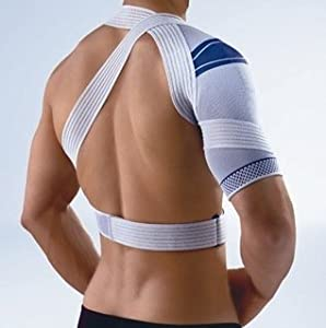 Bauerfeind OmoTrain Shoulder Support,Circumference in inches 9 1 2 - 10 1 4 , Color... by Omotrain