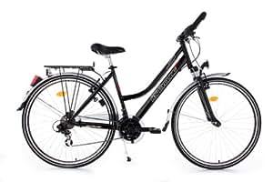 VTC femme 28'' Climax noir TC 53 cm KS Cycling