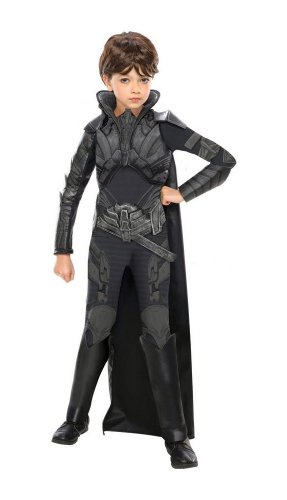 Superman Man of Steel Faora Kids Costume deluxe