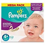 PAMPERS Active Fit Taille 4+ (Maxi Pl...