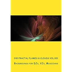240 Fractal Flames &amp; Clouds Vol.001 for DJs, VJs, Musicians