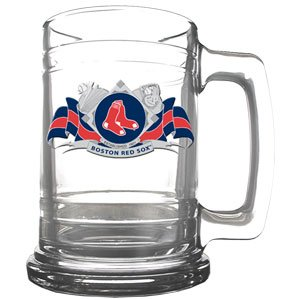 Boston Red Sox Colonial Beverage Tankard 15 oz - MLB Baseball Fan Shop Sports Team Merchandise