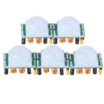 Great Deal! J-deal® Pyroelectric Infrared PIR Motion Sensor Detector Module Hc-sr501 (5pcs)