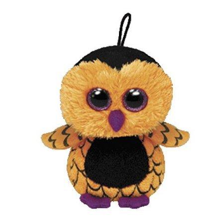 Ty Halloweenie Beanie Ozzie - Owl - 1