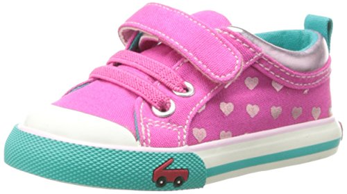 See Kai Run Kristin Sneaker (Infant/Toddler),Hot Pink,6 M Us Toddler front-415917