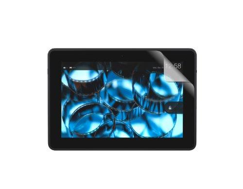 BUFFALO Kindle Fire HDX専用 気泡ができにくい  光沢フィルム 2枚入り BSTPKDT2FGW