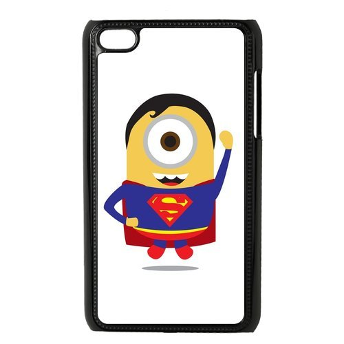 Despicable Me Minion Superman IPod Touch 4 Case Hard Plastic IPod