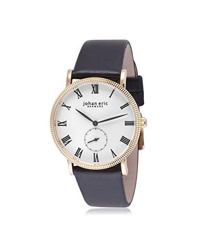Johan Eric Men's JE-H1000-09-001 Holstebro Black/White Stainless Steel Watch