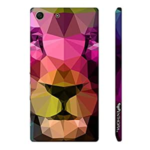 Sony Xperia M5 3D Lion designer mobile hard shell case by Enthopia