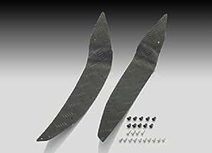 キタコ(KITACO) アルミステップボード PCX125/150(JF56/KF18) ブラックアルマイト 538-1440010