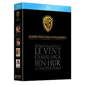 4 chefs-d'oeuvre intemporels - Coffret [Blu-ray]