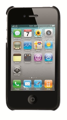 Trexta 10559 Snap On Classic Series for iPhone 4/4S - 1 Pack - Retail Packaging - Black