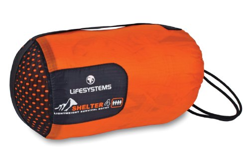 Lifesystems Bothy 4 Mountain Shelter - Orange