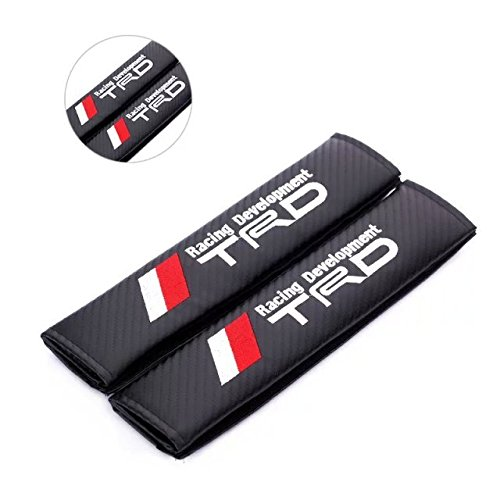 2pcs //TRD Racing Development Carbon Fiber Car