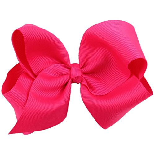 oyedens-big-bow-hairpins-hair-clips-for-children-kids-girls-hair-accessories-hot-pink