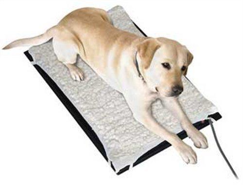Artikelbild: Farm Innovators Plastic Heated Pet Mat with Fleece Cover Durable Medium 17X24'