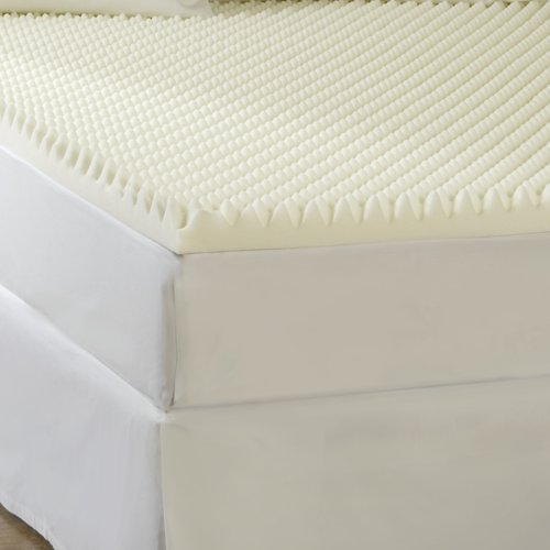 high density memory foam topper Sleep Comfort 4 Inch High Loft Supreme Memory Foam Topper Full  high density memory foam topper