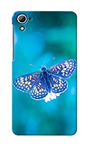 CimaCase Butterfly Designer 3D Printed Case Cover For HTC Desire 826