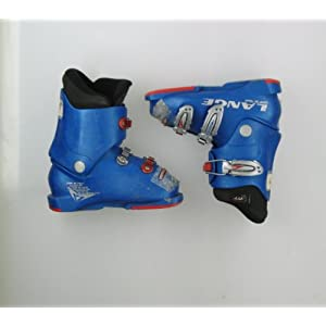 Used Lange Comp 50 Team Ski Boot Toddler Size