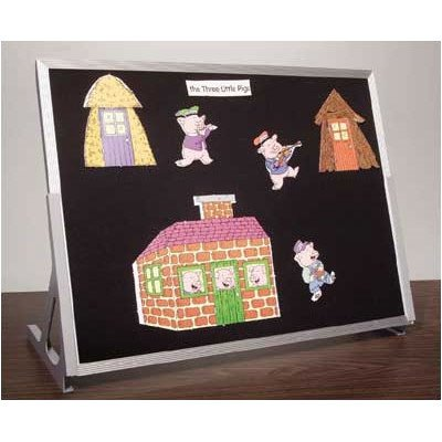 Table Top Flannel Display Boards - Best Rite Table Top Flannel Board 24 X 36
