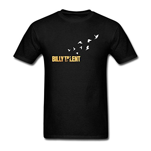 Men's Billy Talent Design Cotton T Shirt