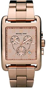 Michael Kors Women's MK5488 Gold Stainless-Steel Quartz Watch with Gold Dial