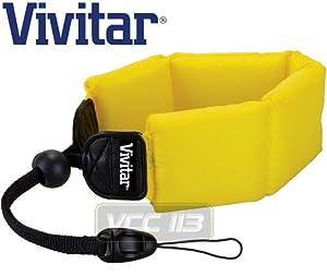 Vivitar YELLOW Floating Wrist Strap for UnderWater/WaterProof Cameras