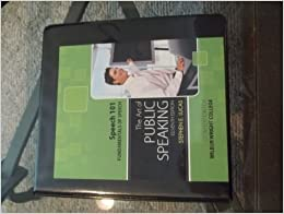 The art of public speaking chapter