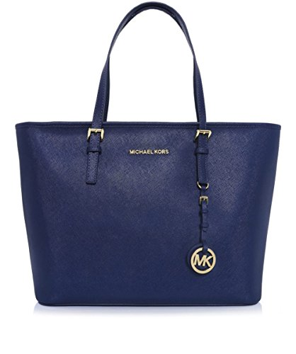 MICHAEL by Michael Kors Jet Set Top Zip Admiral Borsa Shopping one size Admiral
