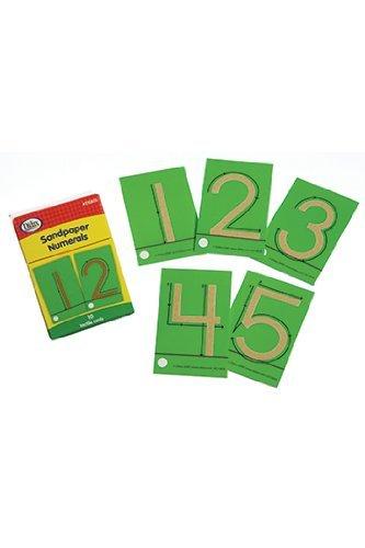 Sandpaper Numerals