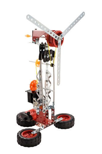 Erector Multi Model 25 Model Set - 260 Pieces + Parts