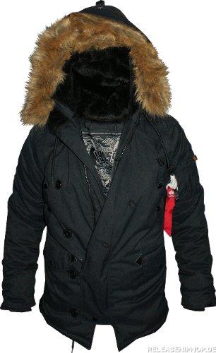 Alpha Industries Explorer Jacke schwarz online kaufen
